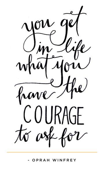 Courage Oprah